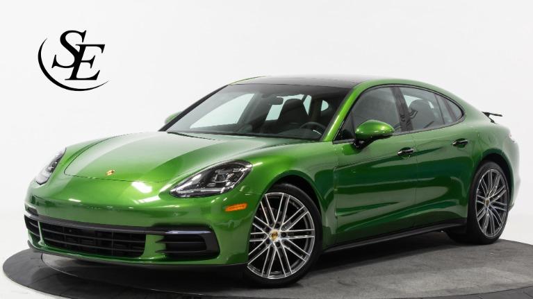 Used 2018 Porsche Panamera MAMBA GREEN METALLIC! | Pompano Beach, FL