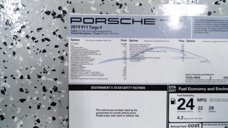 Used 2019 Porsche 911 Targa 4 | Pompano Beach, FL