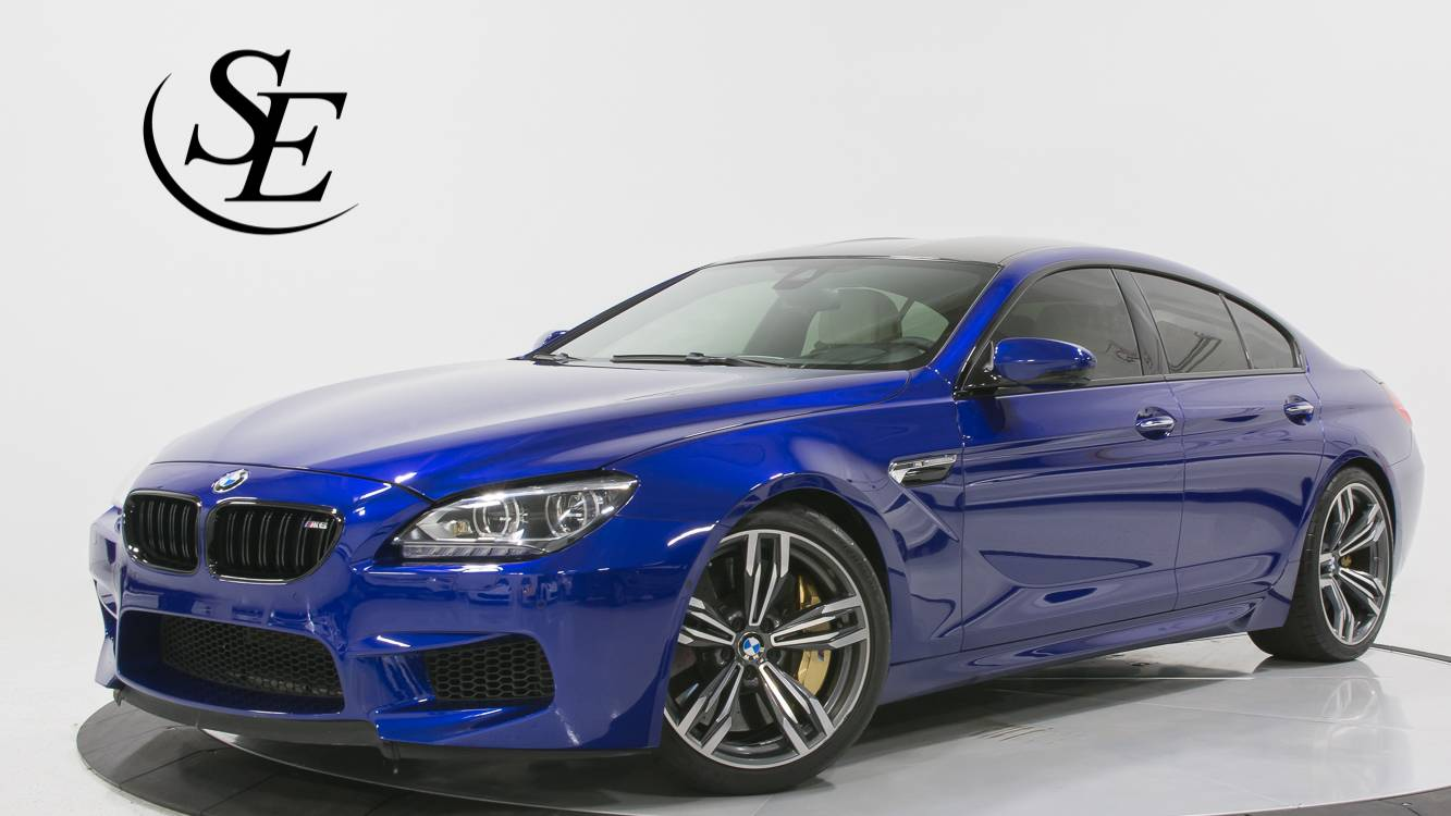 Used 2015 BMW M6 Gran Coupe Competition PKG