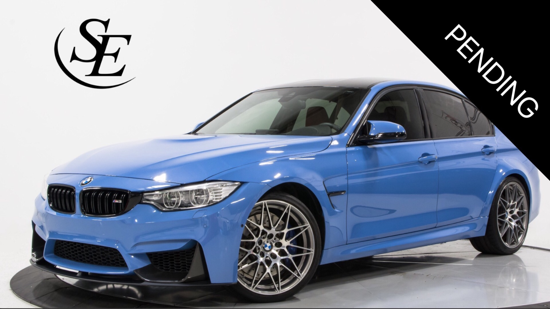 2017 Bmw M3 Sedan Competition Pkg Stock 22609 For Sale Near Pompano Beach Fl Fl Bmw Dealer