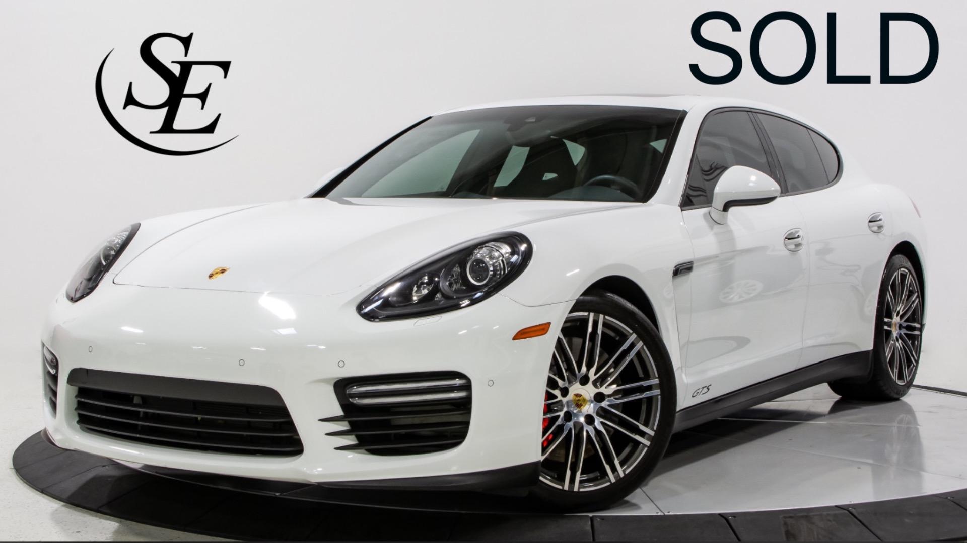 2016 Porsche Panamera Gts Stock 22686 For Sale Near Pompano Beach Fl Fl Porsche Dealer