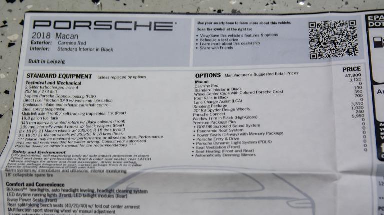 Used 2018 Porsche Macan  | Pompano Beach, FL